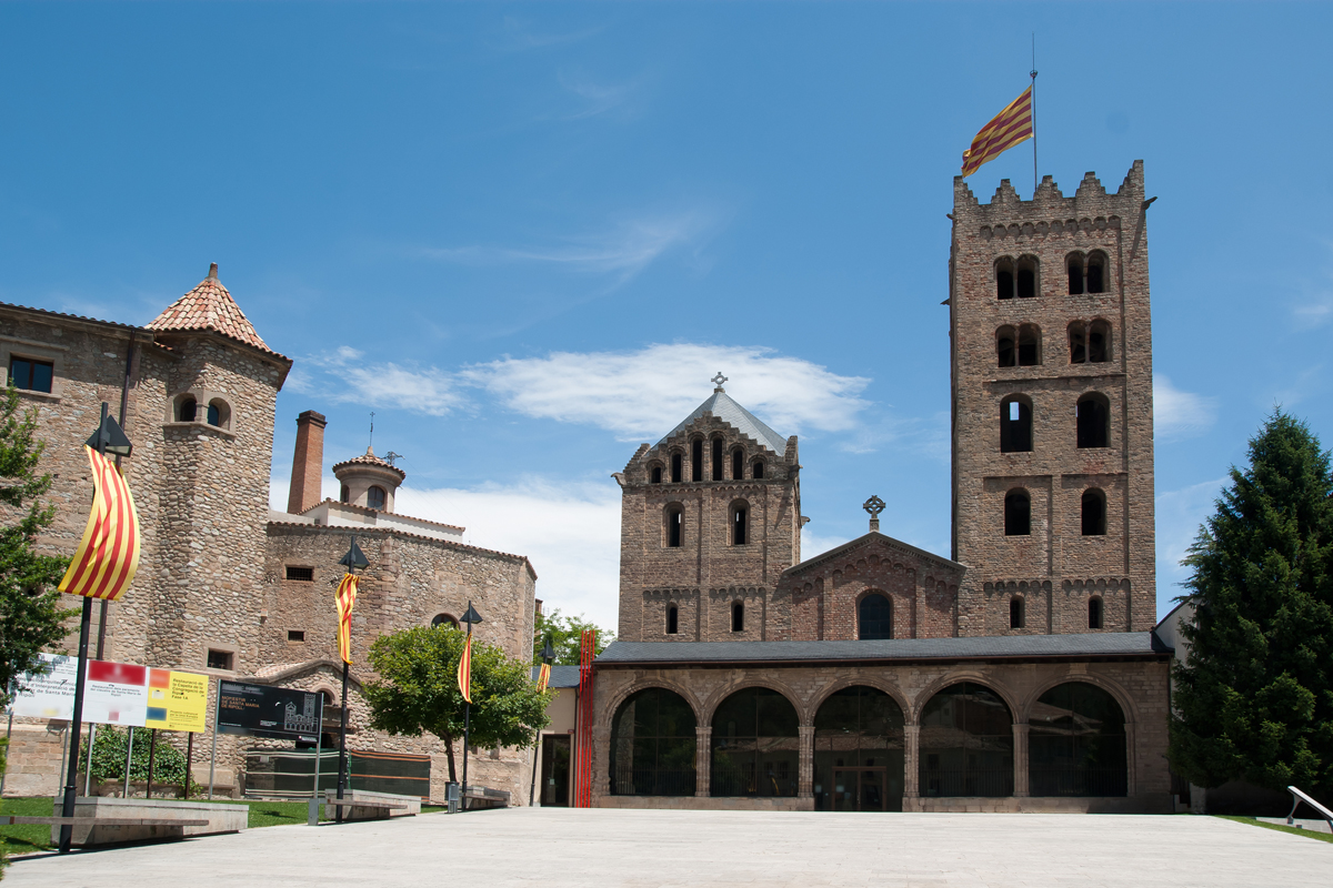Monasterio de Sta. María de Ripoll (Girona)