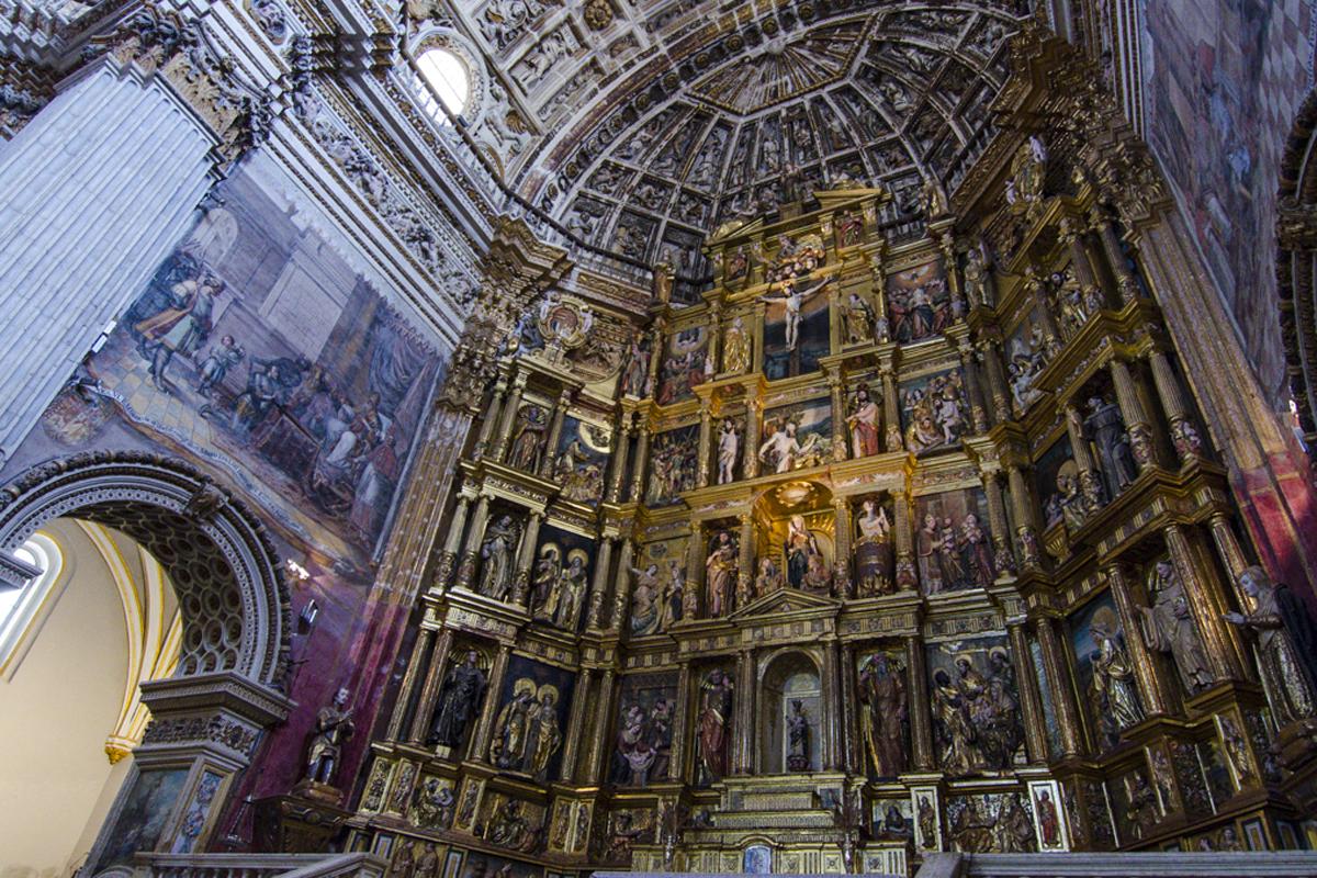 Monasterio de San Jerónimo (Granada) - Retablo Mayor.
