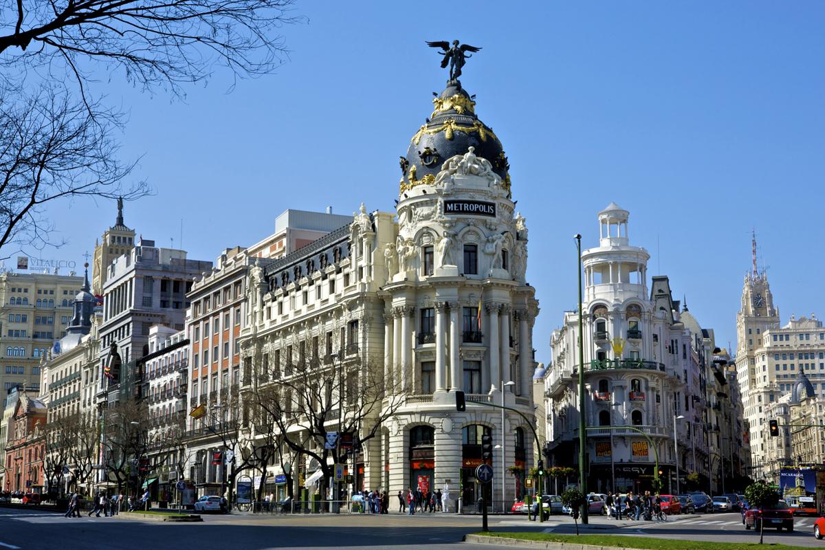 Madrid, un epicentro de barrios.