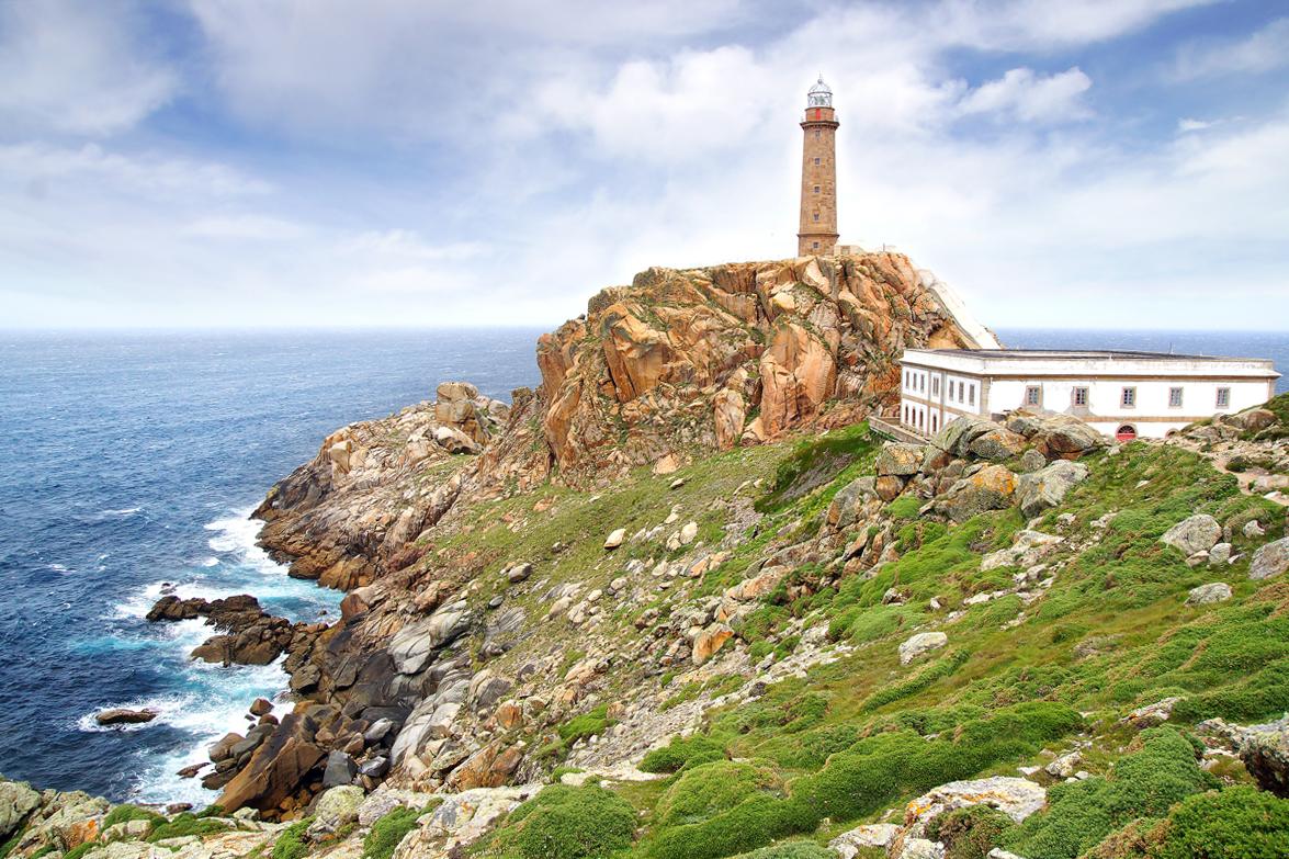 Los faros más bonitos de España - Cabo Vilan (Galicia)
