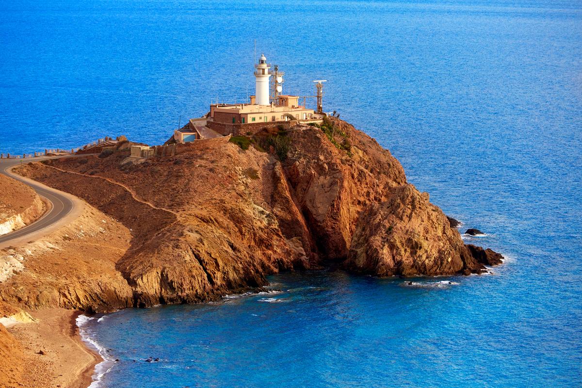 Los faros más bonitos de España - Cabo de Gata (Almería)