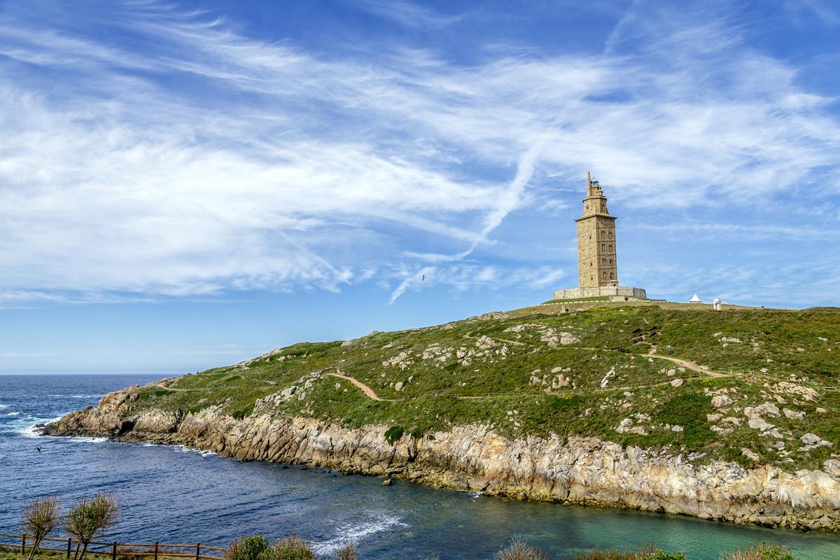 Los faros más bonitos de España - Torre de Hércules (A Coruña)