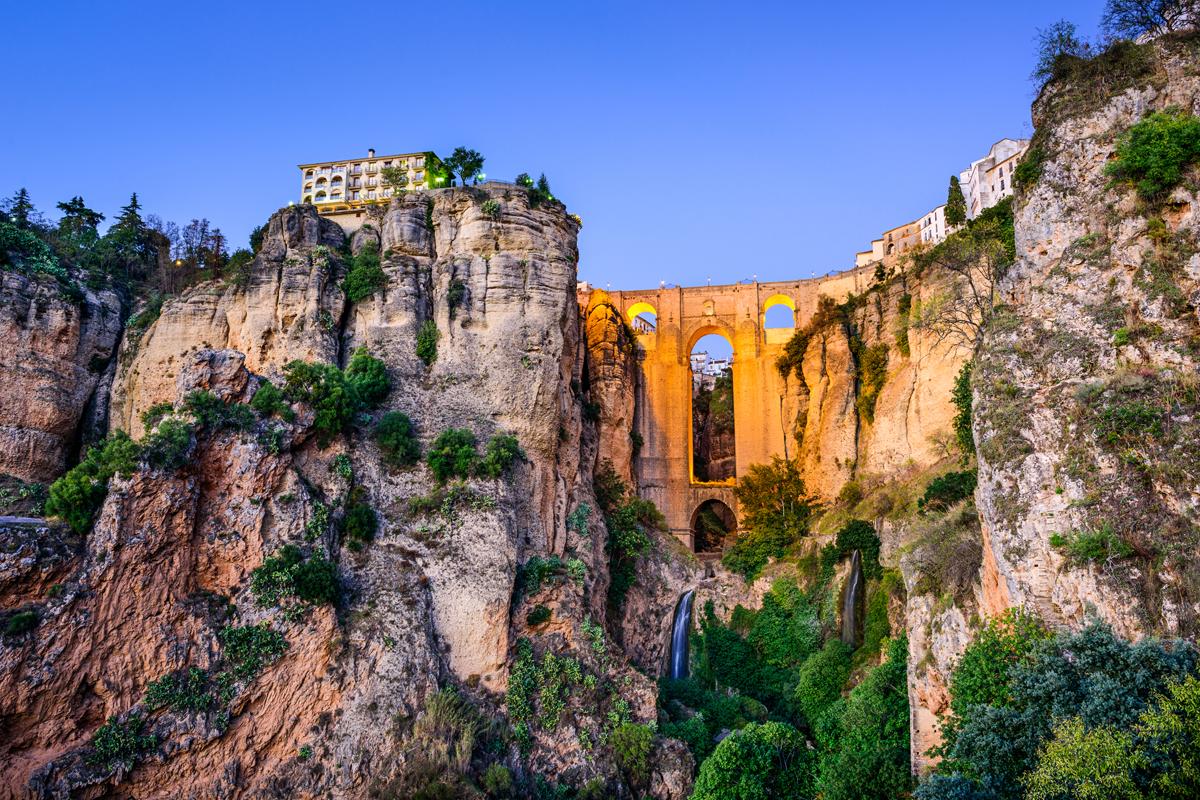 Los puentes más bonitos de España - Puente Nuevo de Ronda (Málaga)