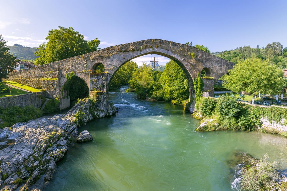 Los puentes más bonitos de España - Puente Romano de Cangas de Onís