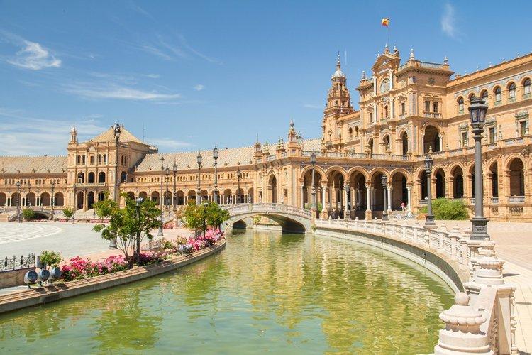 Las plazas más bonitas de España - Plaza de España de Sevilla