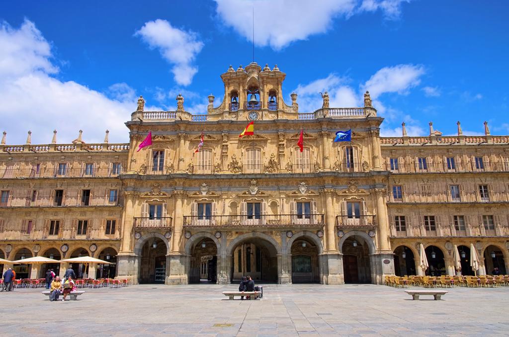 Las plazas más bonitas de España - Plaza Mayor de Salamanca