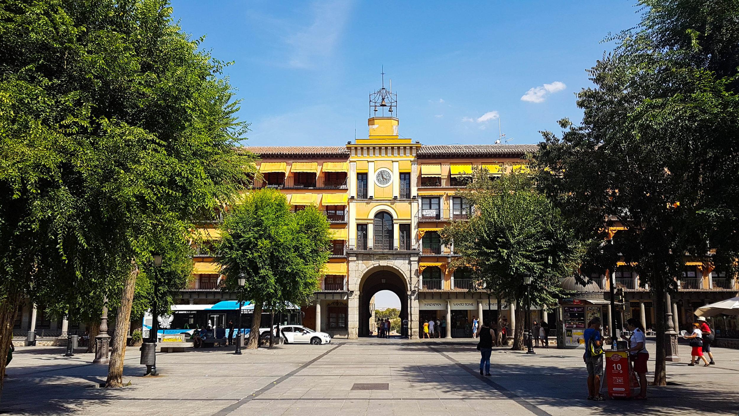 Las plazas más bonitas de España - Plaza de Zocodover (Toledo)