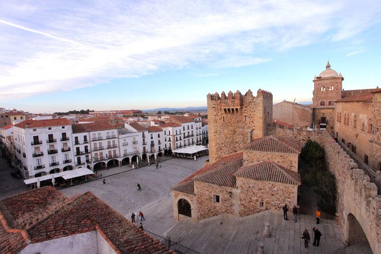 Las plazas más bonitas de España - Plaza Mayor de Cáceres