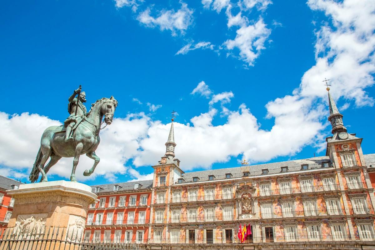 Las plazas más bonitas de España - Plaza Mayor de Madrid