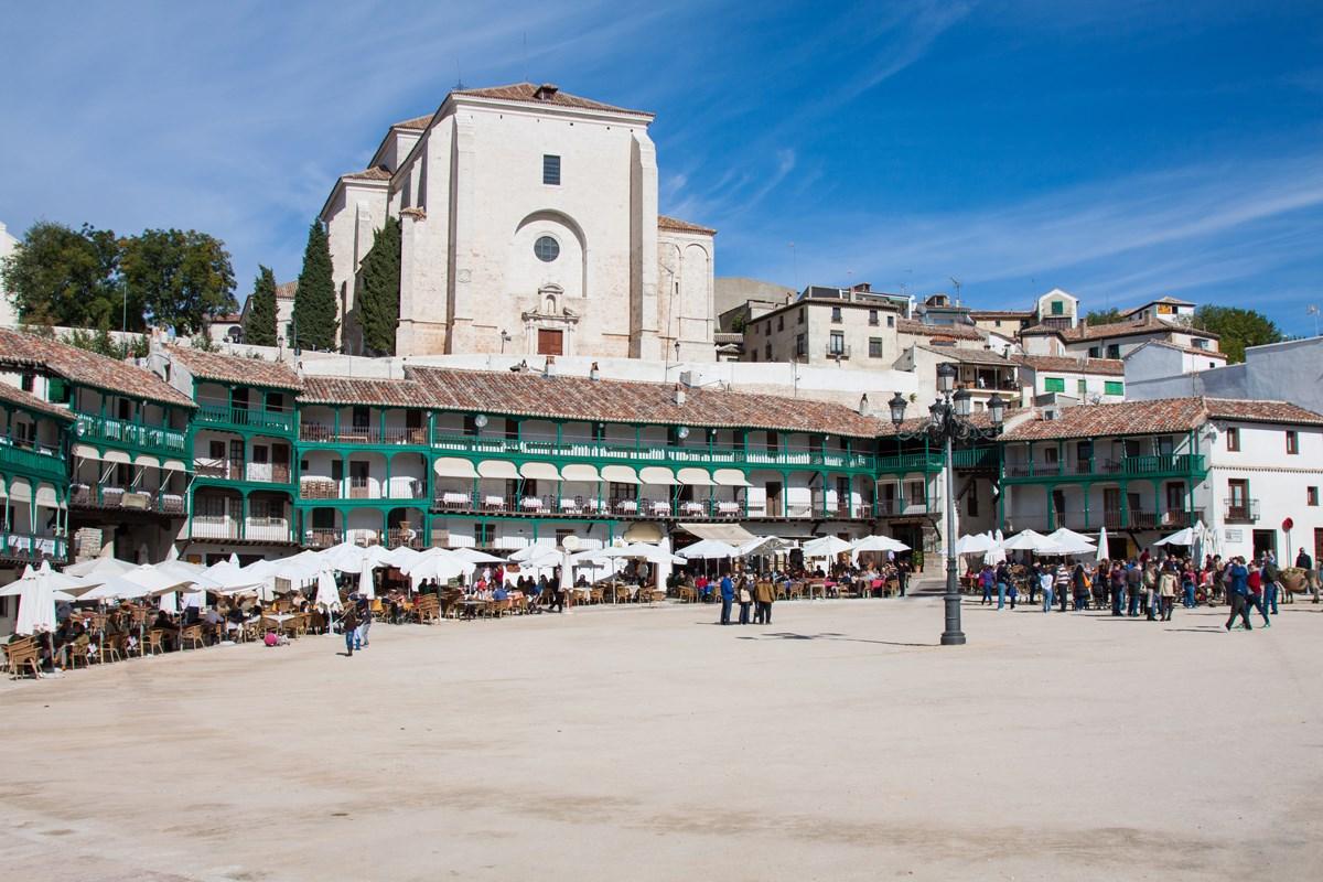 Las plazas más bonitas de España - Plaza Mayor de Chinchón (Madrid)