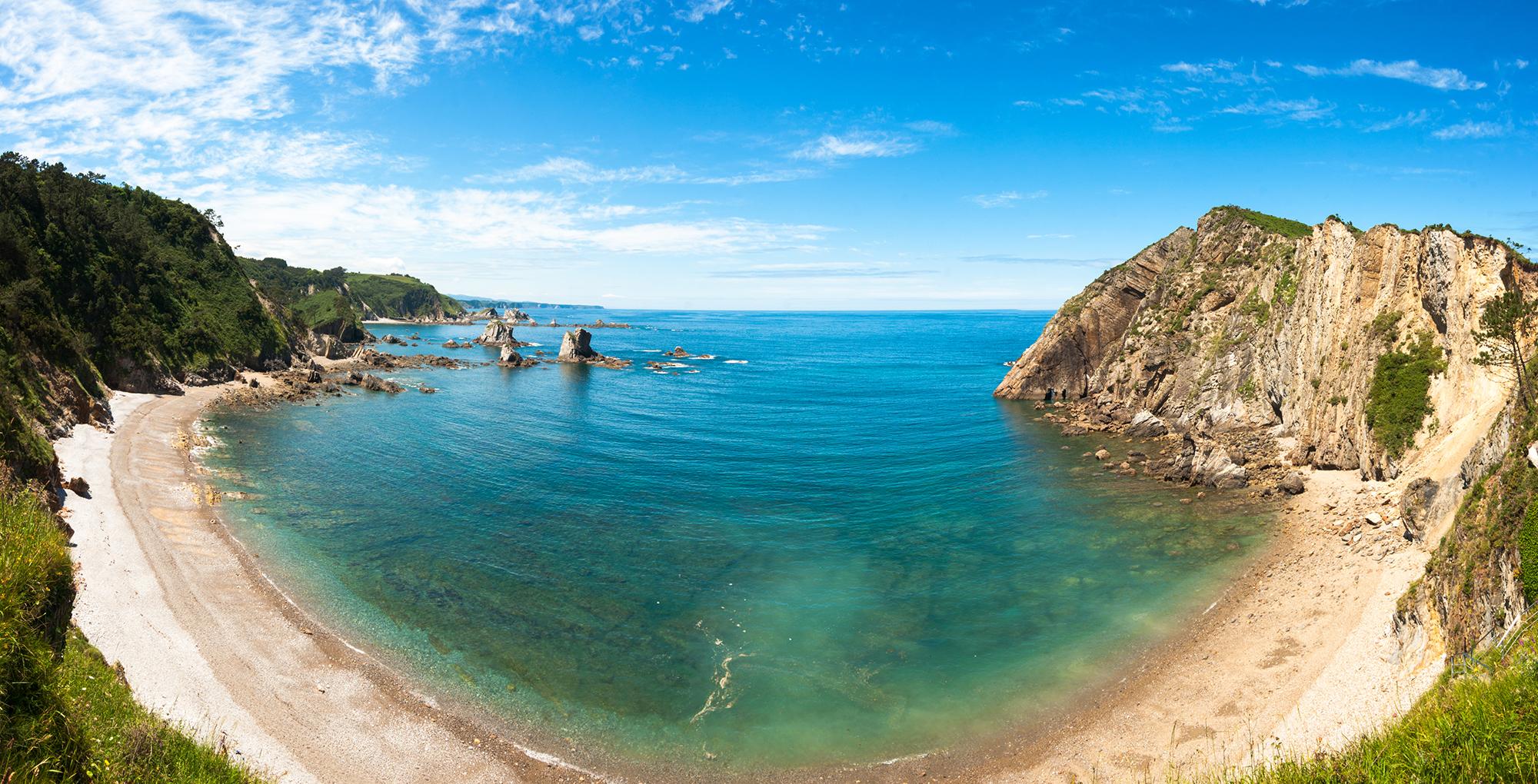 Las playas más bonitas de Asturias - Playa del Silencio