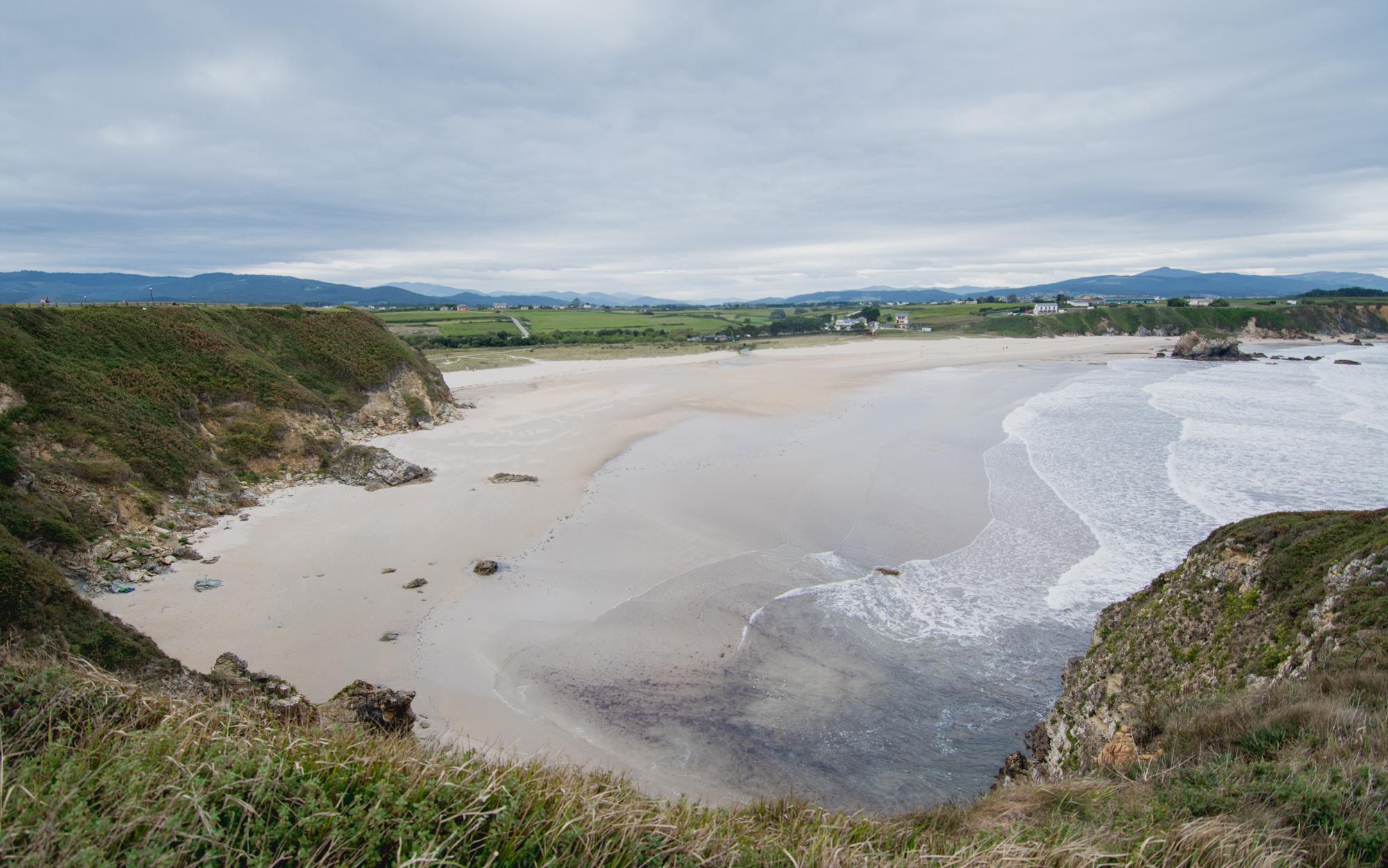 Las playas más bonitas de Asturias - Playa de Serantes