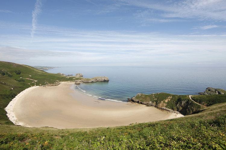 Las playas más bonitas de Asturias - Playa de Torimbia