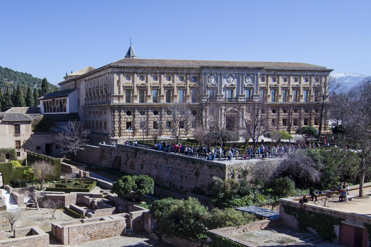La Alhambra de Granada - Palacio de Carlos V
