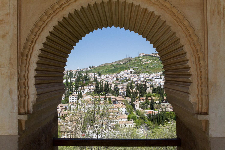 La Alhambra de Granada - Vistas del Albaicín