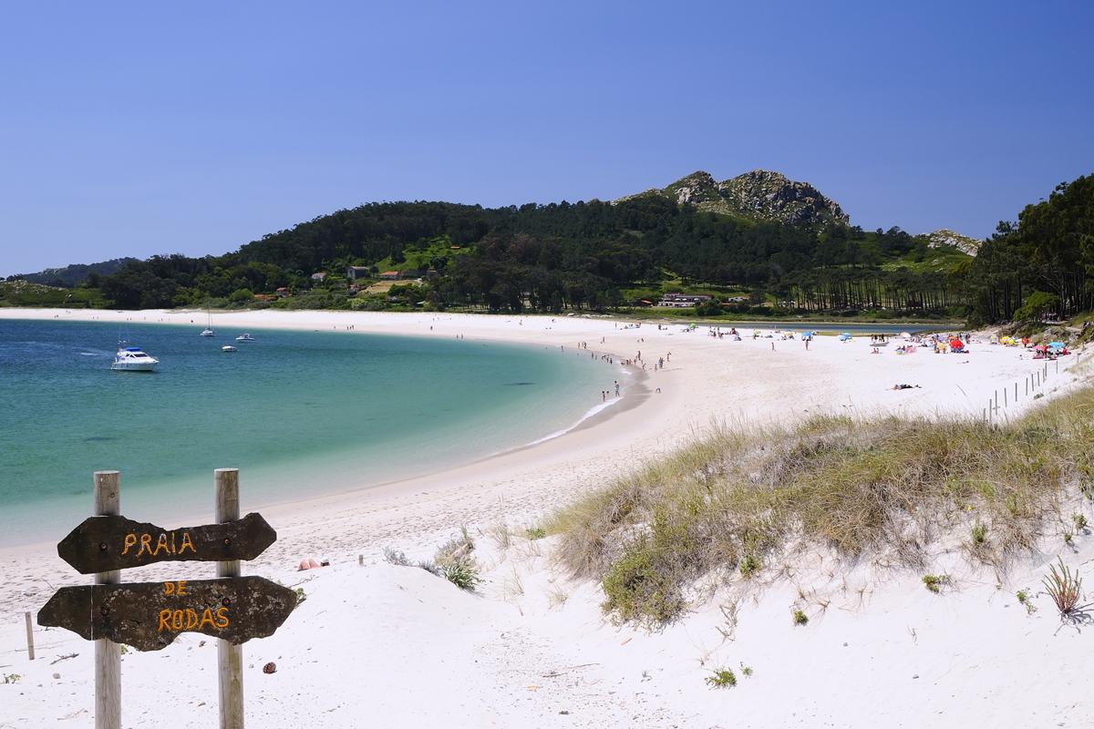 Islas Cíes - Playa de Rodas