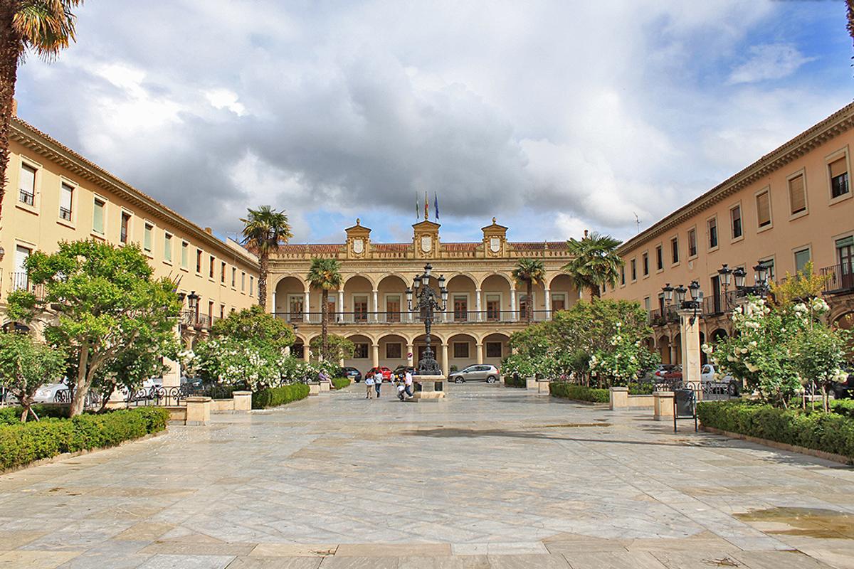 Guadix (Granada) - Plaza Mayor