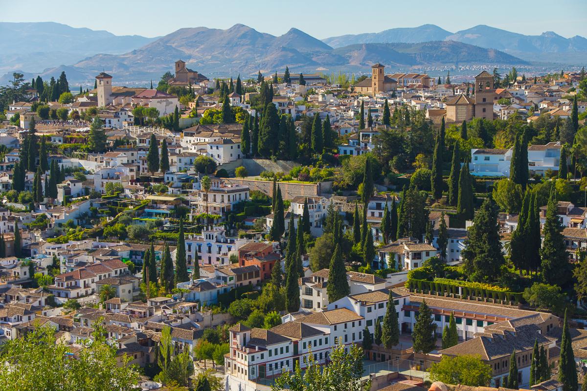 Granada, ciudad más bonita de España 2016
