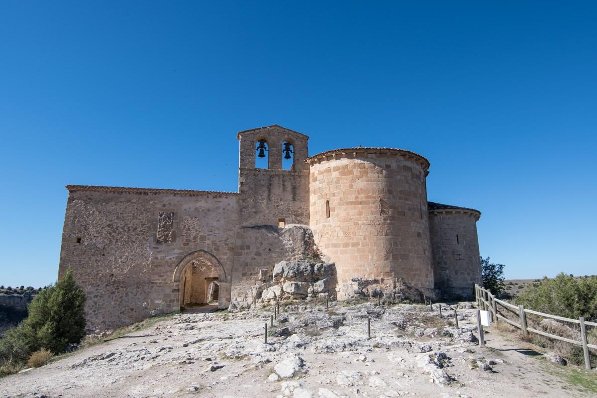 Hoces del río Duratón (Segovia) - Ermita de San Frutos