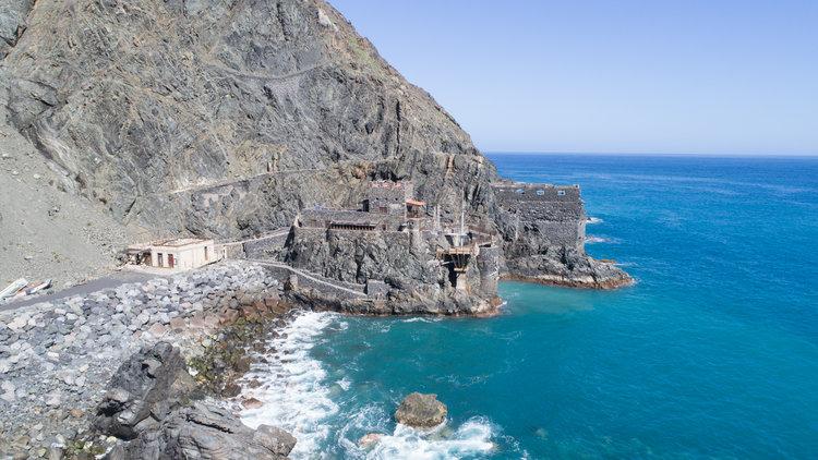 Qué hacer en La Gomera - Castillo del Mar, Vallehermoso
