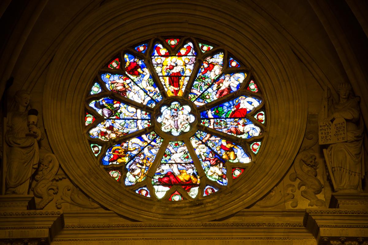 Catedral de Cuenca - Rosetón gótico