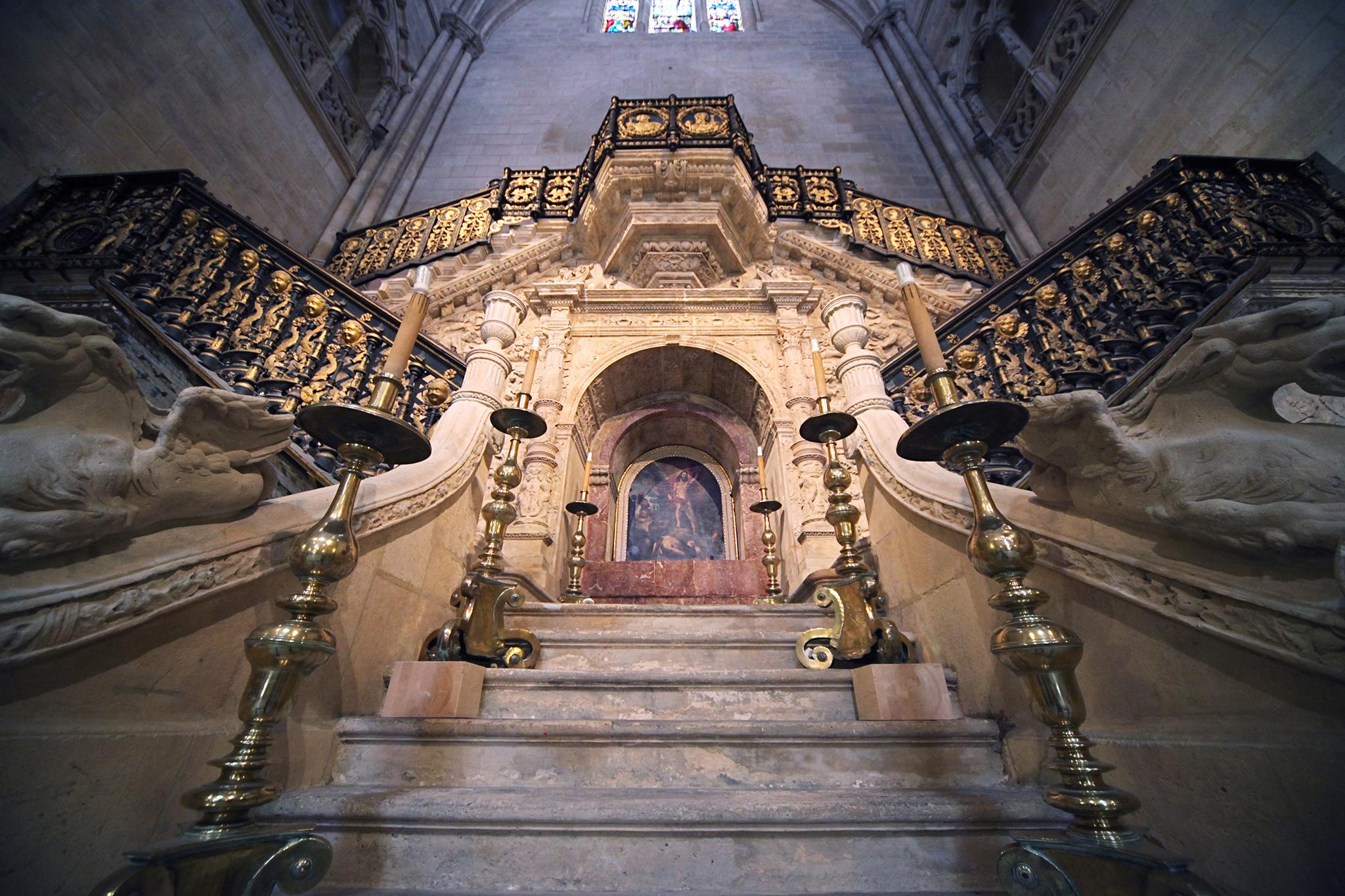Catedral de Burgos - Escalera Dorada