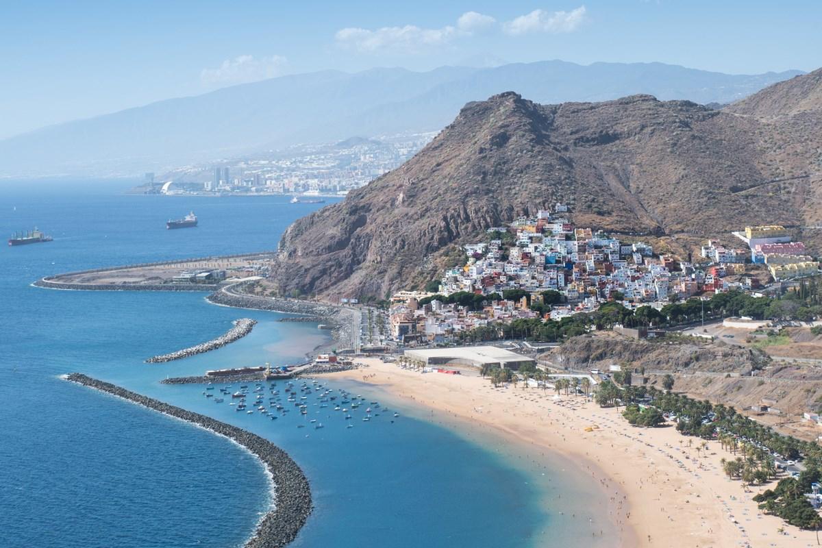 Qué ver en Tenerife - Playa de las Teresitas