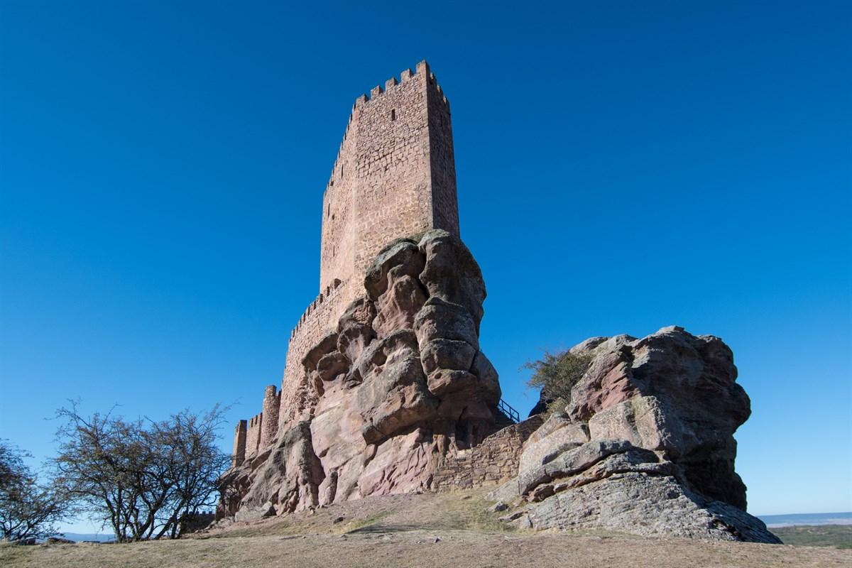 Qué ver en el Alto Tajo - Castillo de Zafra
