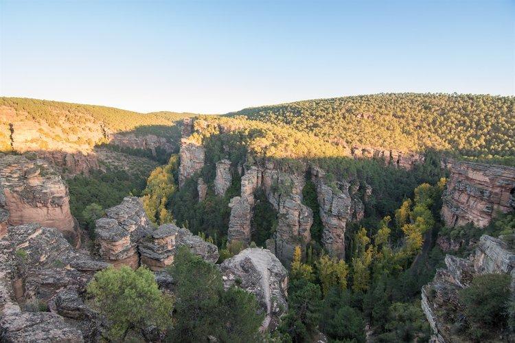 Qué ver en el Alto Tajo - Barranco de la Hoz