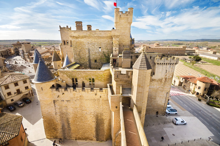 Qué hacer en Sos del Rey Católico - Castillo-Palacio de Olite (Navarra)