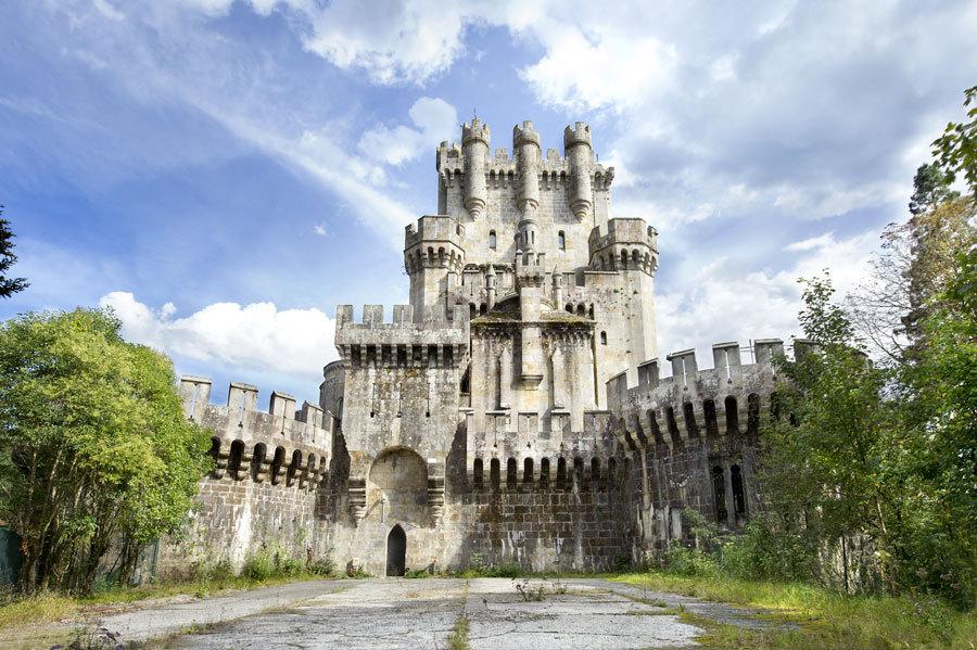 Los castillos más bonitos de España - Castillo de Butrón (Vizcaya)