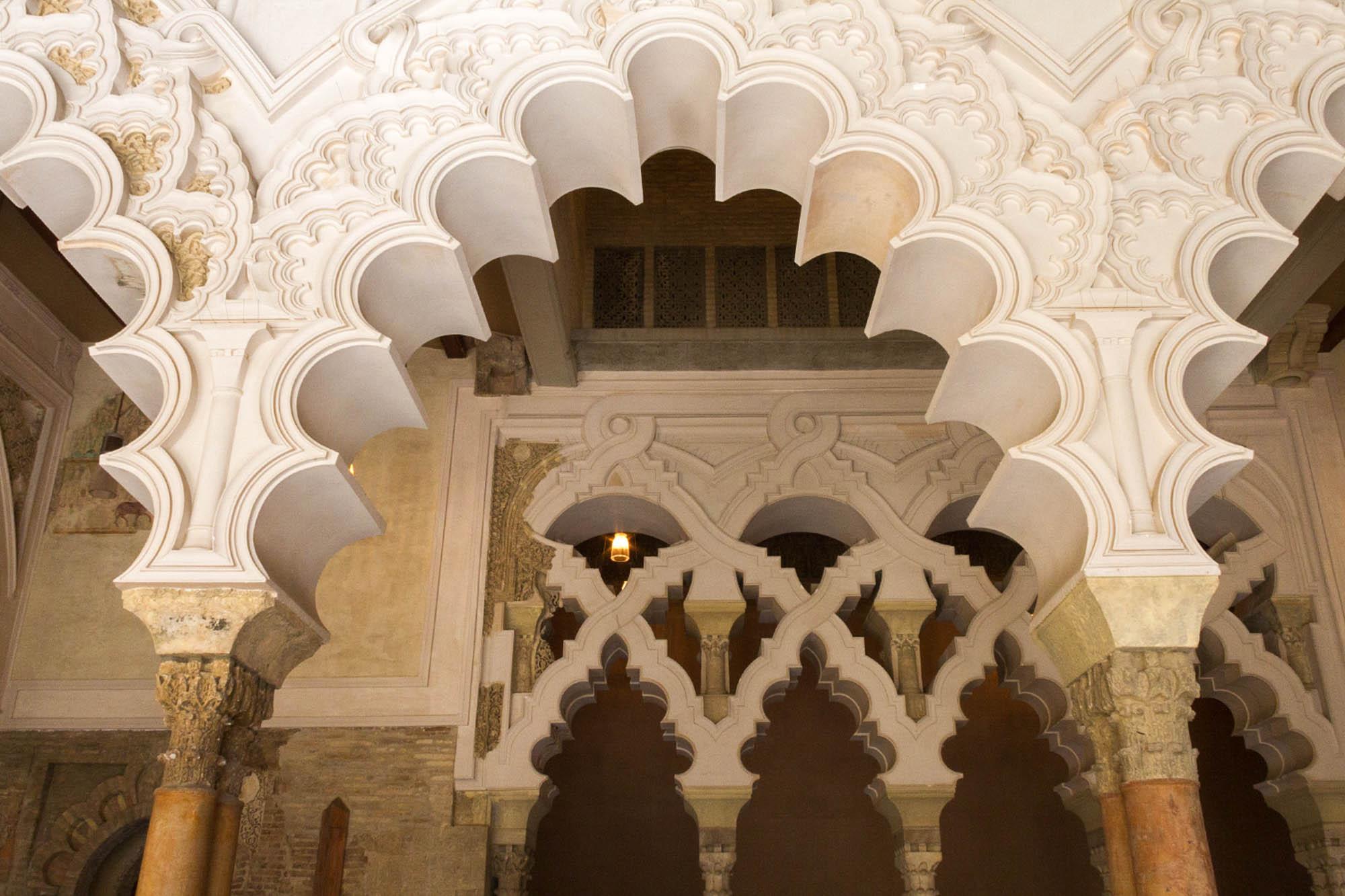 Que ver en Zaragoza - Arquitectura Mudéjar de Aragón / Palacio de la Aljafería