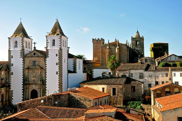 Las 15 ciudades Patrimonio de la Humanidad en España - Cáceres