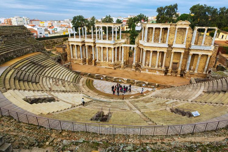 Las 15 ciudades Patrimonio de la Humanidad en España - Mérida (Badajoz)