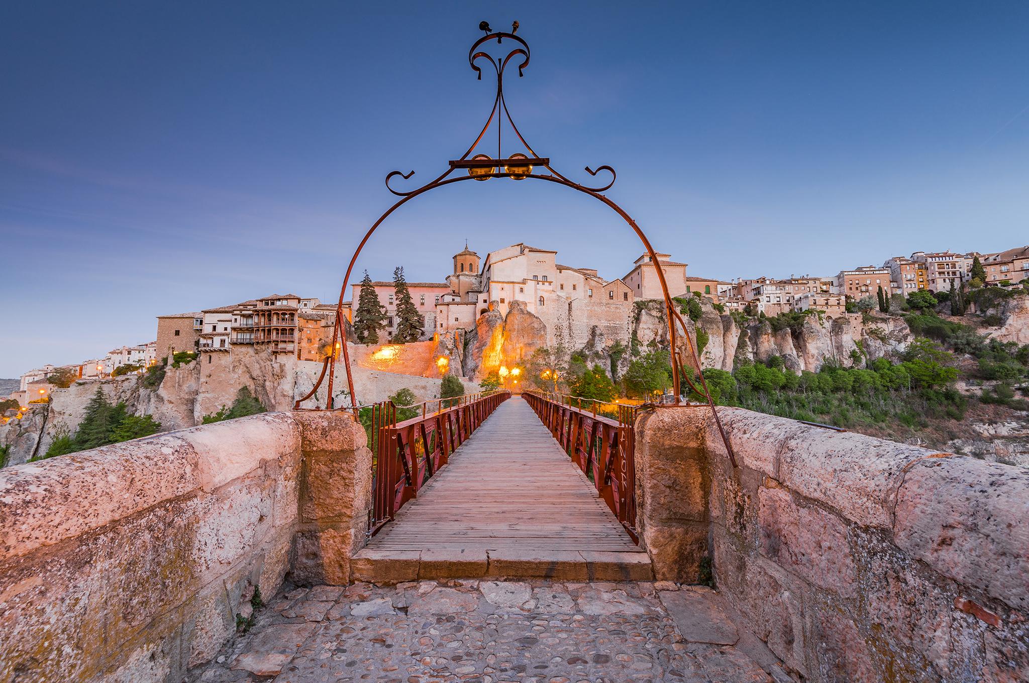 Los puentes más bonitos de España - Puente de San Pablo (Cuenca) | Foto:  Marcin Jucha | Dreamstime.com