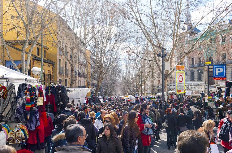 Qué hacer en Madrid - El Rastro.