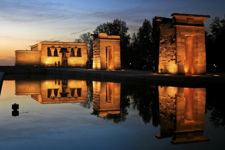 Qué ver y hacer en Madrid - Templo de Debod