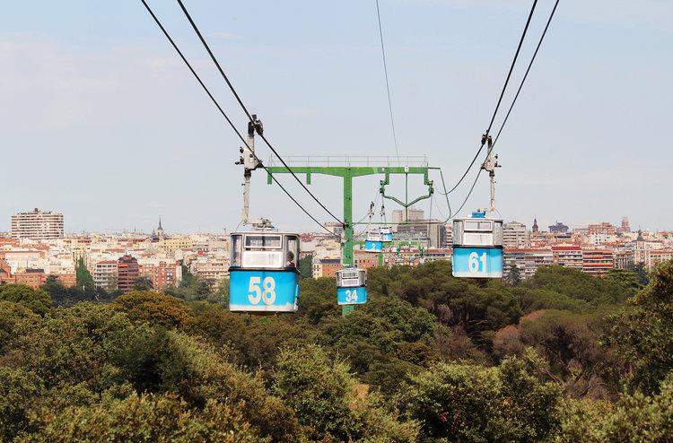 Qué ver y hacer en Madrid - Teleférico de la Casa de Campo