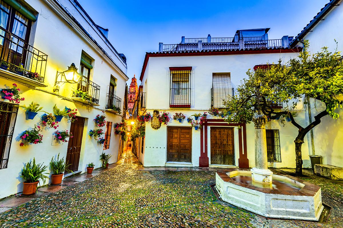 Qué ver en Córdoba - Calleja de las Flores | Foto: Emicristea | Dreamstime.com