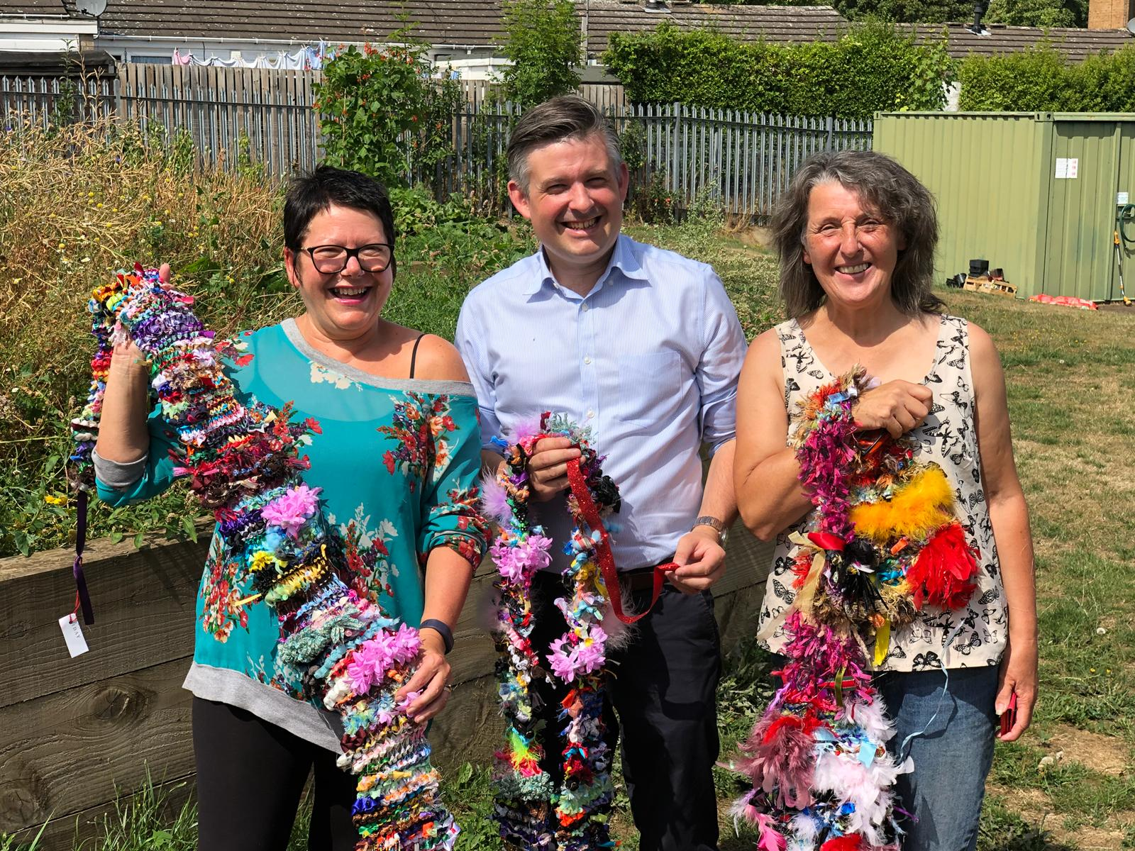 Jon Ashworth was out and about in Eyres Monsell today meeting residents and met up with the local Councillors - Friday 3 August 2018
