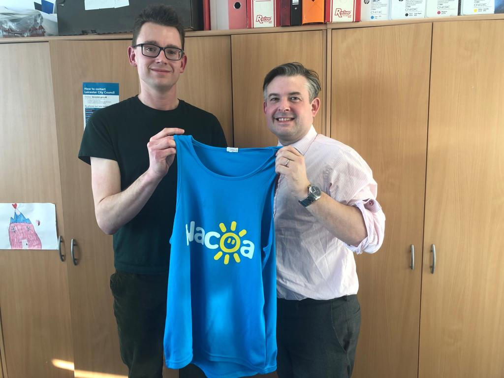 Jon meets Jack Mockford who will run 1000 miles for Nacoa, a charity assisting children affected by a parent's drinking, which Jon supports - Friday February 15 2019