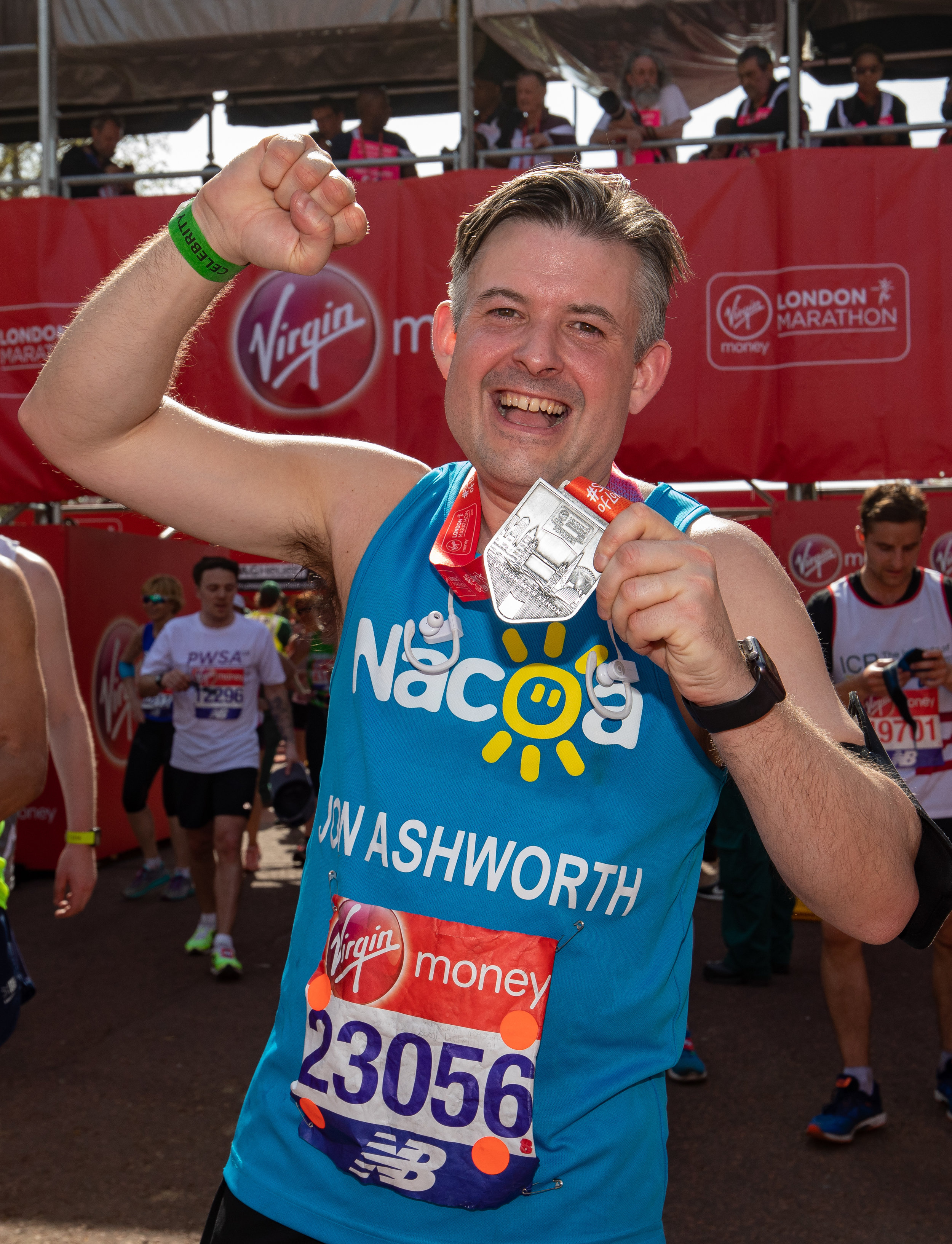 Jon will be running the London Marathon for the third time on Sunday 28 April for The National Association for Children of Alcoholics - Wednesday April 17 2019