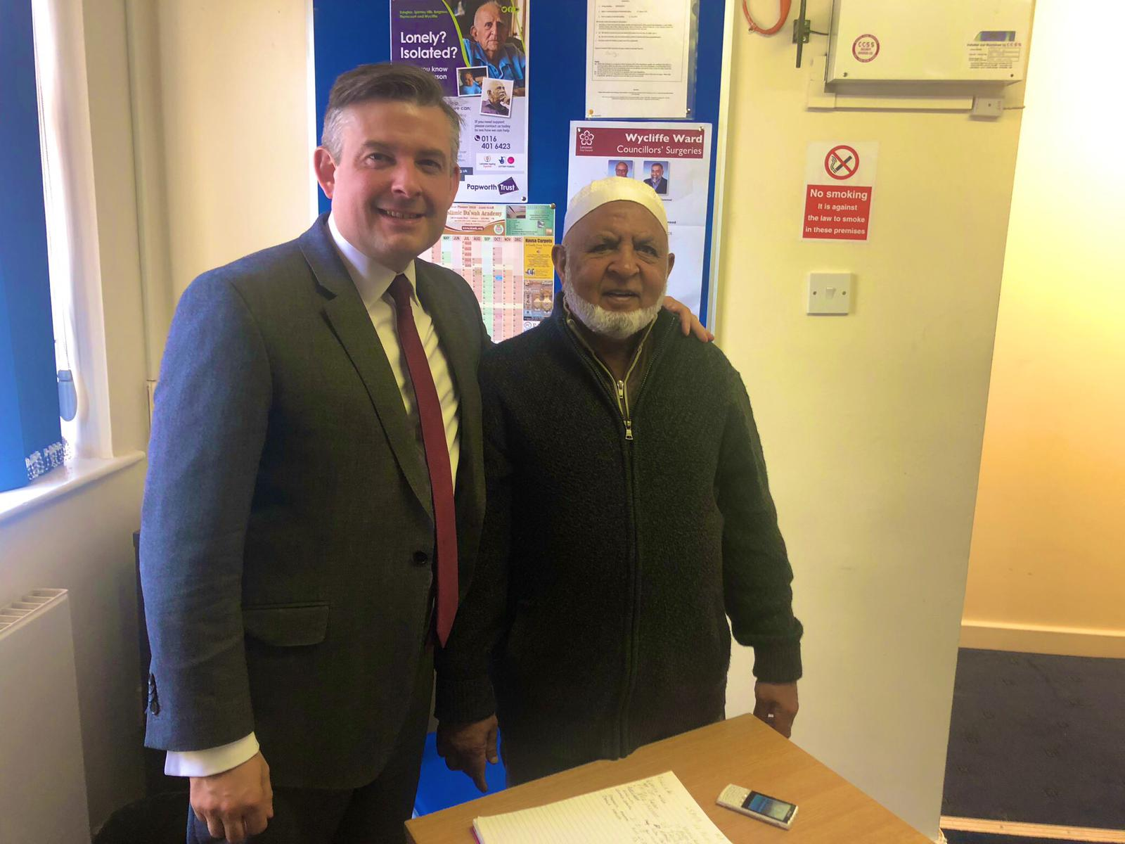 Jon had a busy Advice Session at St Peter's. Thanks to the Tenants and Residents Association for hosting the session - Friday May 31 2019