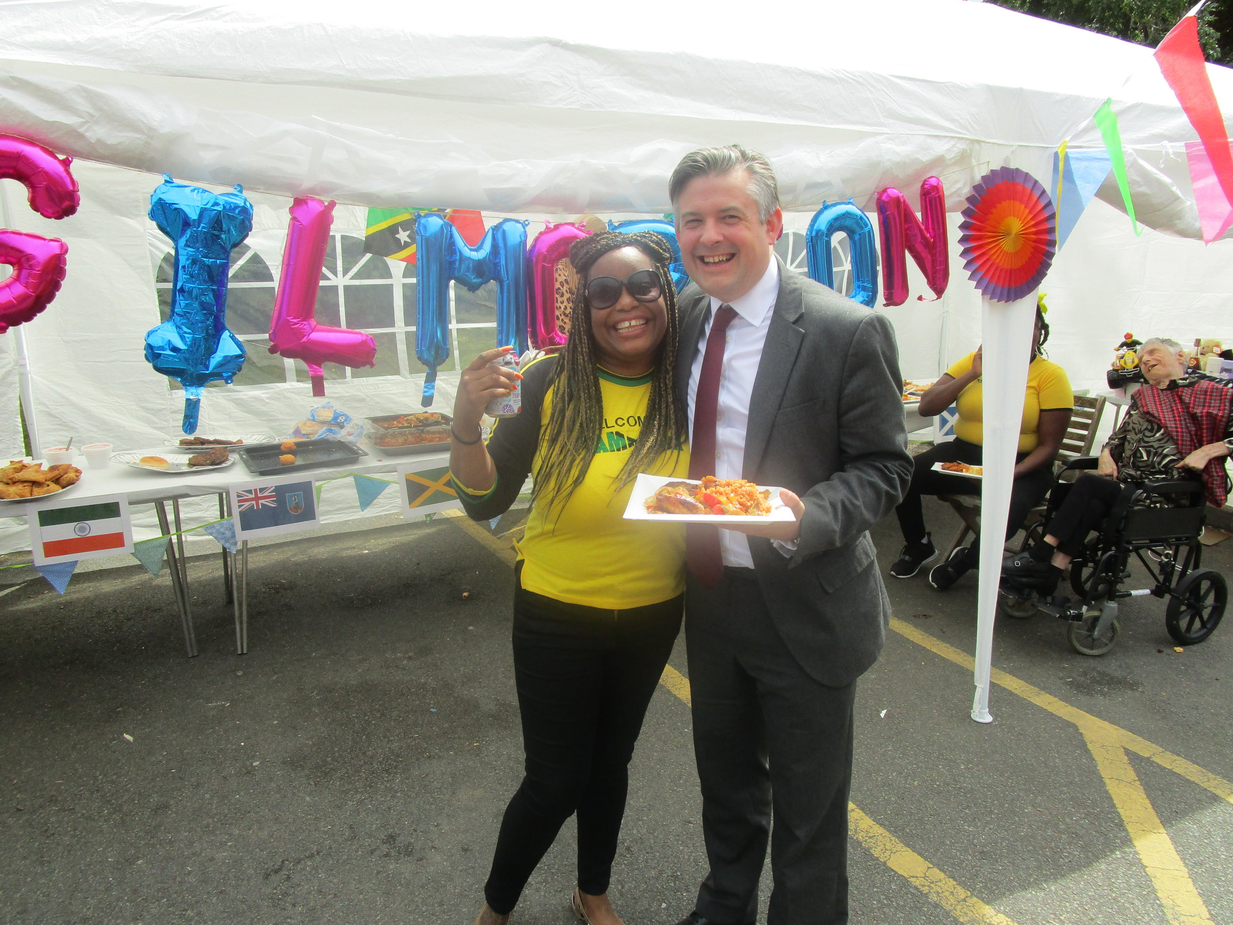 Jon visited a local learning disability service at Gilmorton Flats celebrating National Learning Disability Week with his constituents - Friday June 21 2019