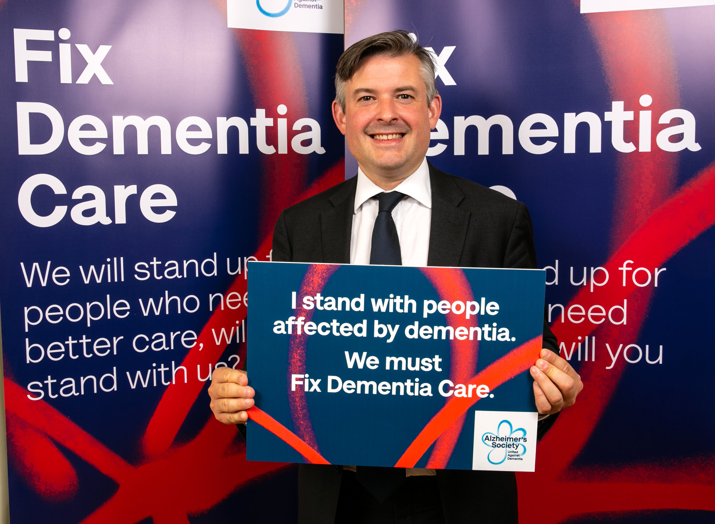 Jon speaks out in support of Alzheimer's Society dementia care campaign - Tuesday July 9 2019