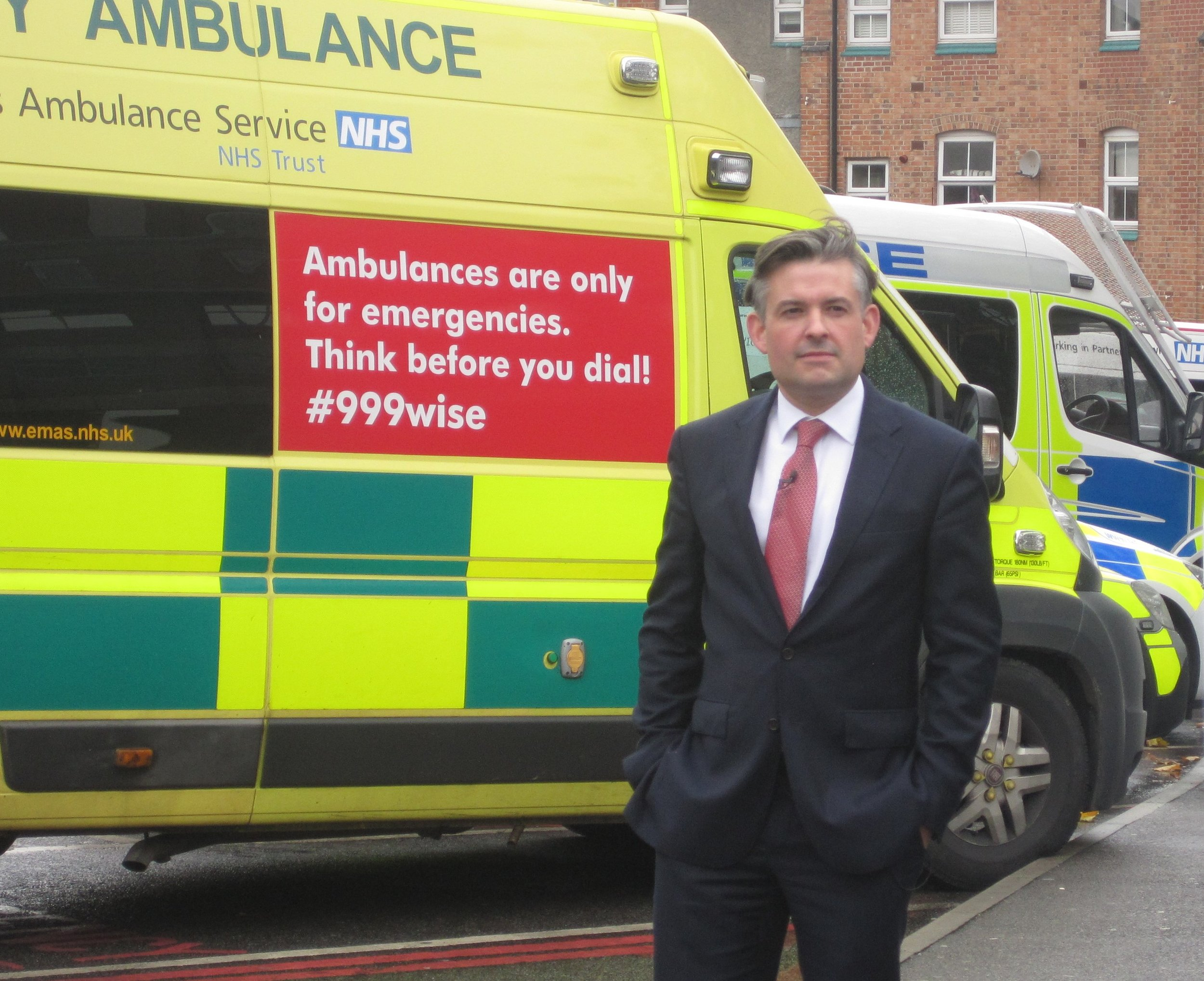 Jon calls on the new Prime Minister to increase NHS funding following a fire at Leicester Royal Infirmary - Tuesday July 30 2019