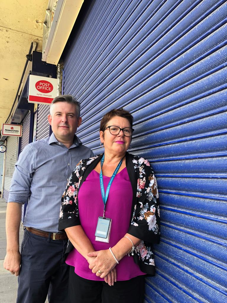 Jon demands the Post Office in Eyres Monsell to be re-opened as soon as possible - Friday August 2 2019