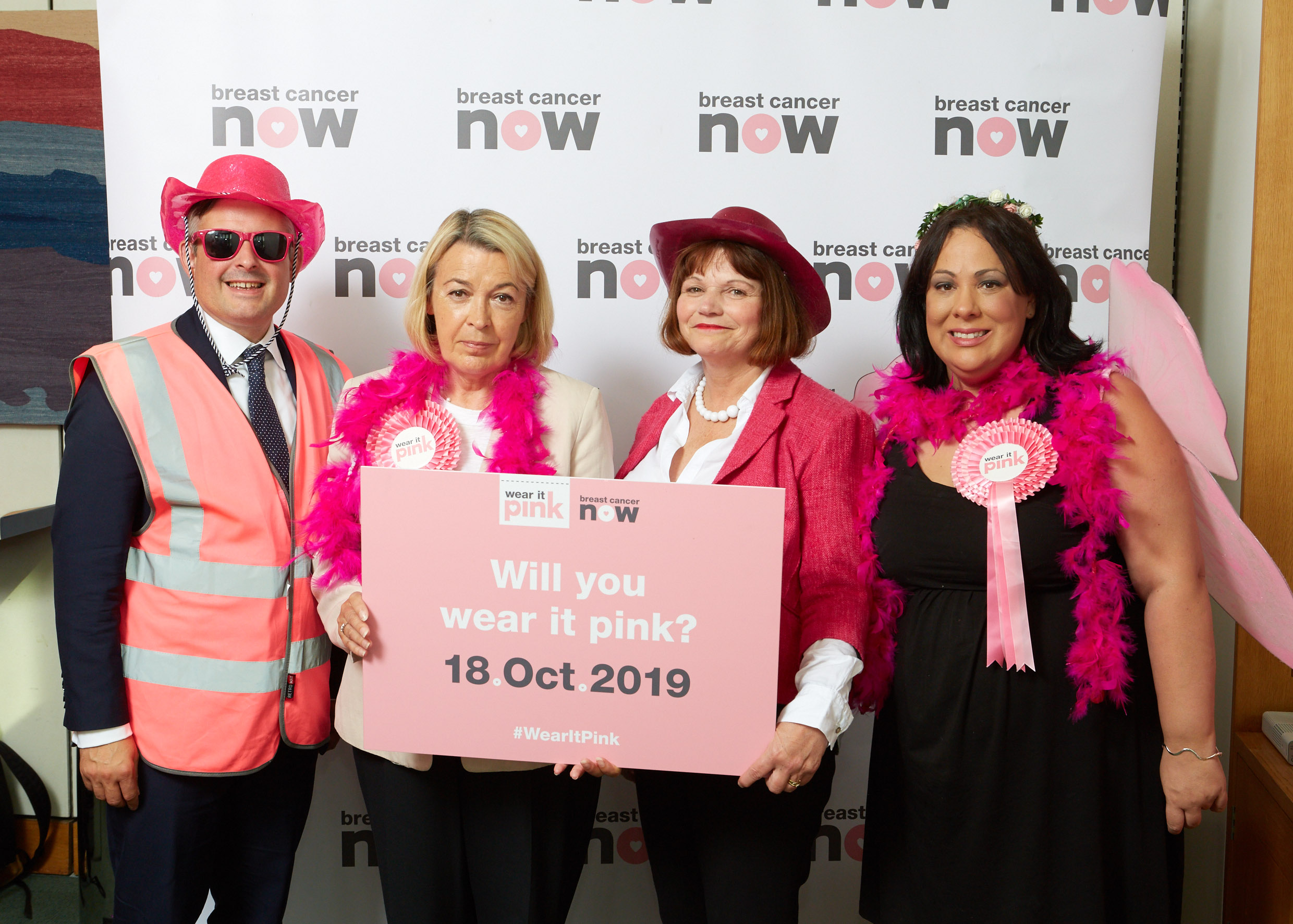 Jon is supporting #wearitpink on Friday 18th October which helps fund vital research and support - Tuesday September 10 2019