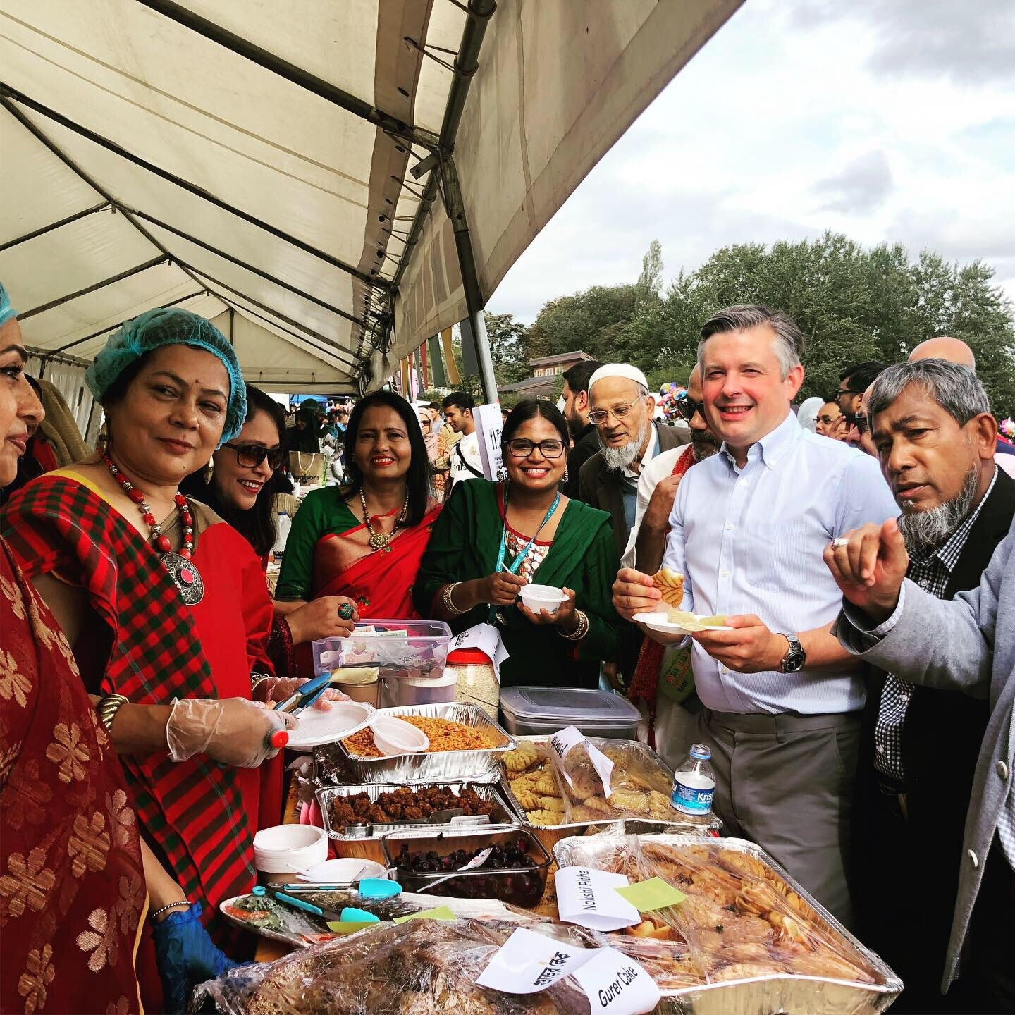 Jon calls into the first Leicester Bangladeshi Food and Sports Festival - Sunday September 15 2019