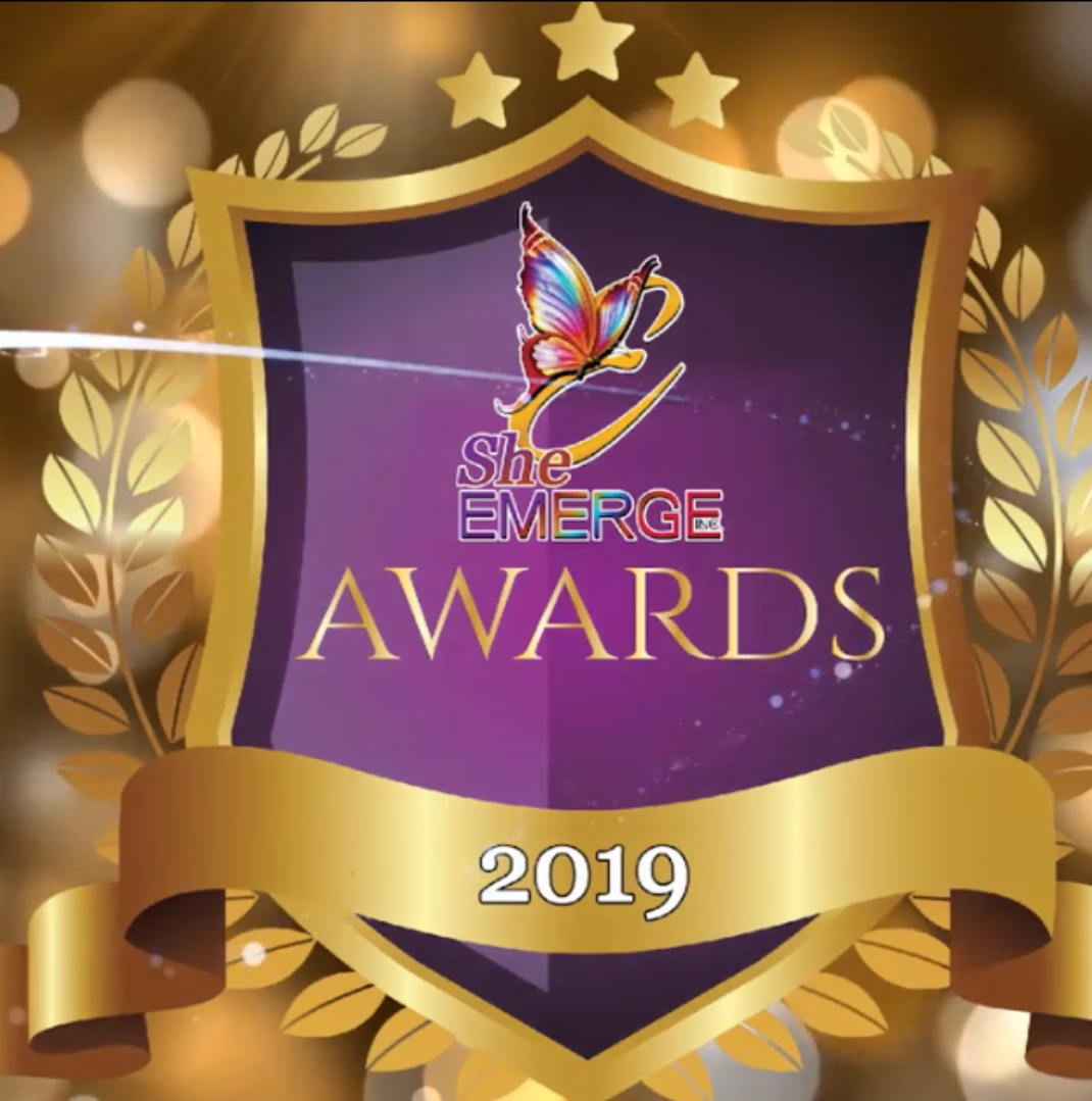 She Emerge 2019 Awards - To be presented at the 2019 Women's Conference.